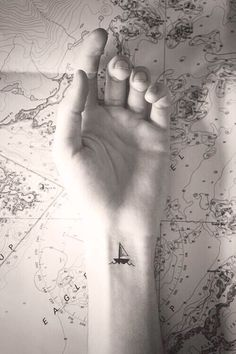 Small tattoo ideas ⚓️ Could have a motivational quote underneath- 'keep sailing on'