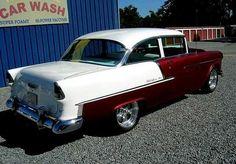 1955 Chevy, 1955 Chevrolet, Chevrolet Bel Air, Vintage Trucks, Old Trucks, General Motors, Volkswagen, Toyota, Automobile