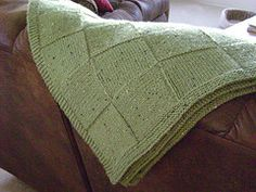 Ravelry: #26 Afghan pattern by Knit Simple