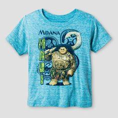 Toddler Boys' Moana Maui T-Shirt - Blue Bird 4T, Toddler Boy's
