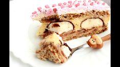 Mančmelou  torta -  Munchmallow - YouTube Tiramisu, Cheesecake, Sweets, Cooking, Ethnic Recipes, Desserts, Cakes, Food, Youtube