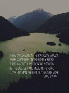 Byron...