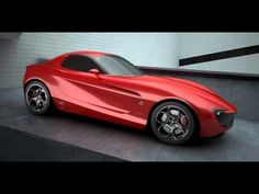 New Giulia GTV concept, by Vincent Montreuil