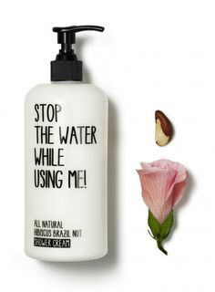 Stop the Water | Hibiscus Brazil Nut Shower Cream | Credo Beauty | @stopthewater | #discoverCredoBeauty