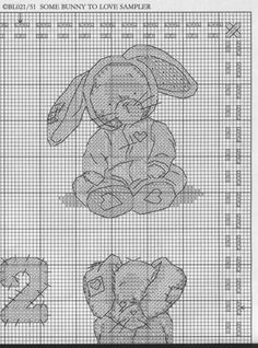 Encontrado en elypetrova.gallery.ru Somebunny to Love Sampler 3/6