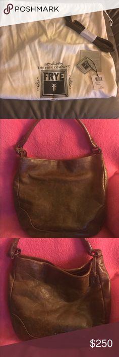 Selling this Authentic Frye Melissa Hobo handbag on Poshmark! My username is: ldcochran7. #shopmycloset #poshmark #fashion #shopping #style #forsale #Frye #Handbags
