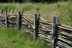 Old way of doing a fence
