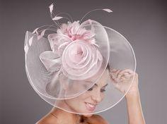Tocado Espiral. Por encargo en Pingleton Hats. http://www.pingletonhats.com/  #tocados #bodas #complementos #rosa #pingletonhats