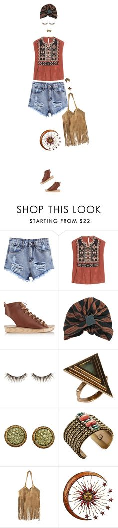 """""""Untitled #251"""" by simonethe on Polyvore featuring Isabel Marant, Ancient Greek Sandals, shu uemura, Pamela Love and DANNIJO"""