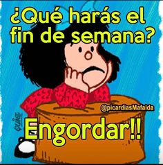 Mafalda Quotes, Spanish Memes, Illustrations And Posters, Really Funny, Funny Pictures, Life Quotes, Inspirational Quotes, Comics, Messages