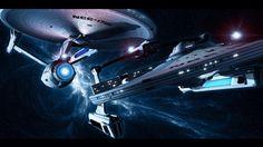Star Trek wallpapers wallpaper images TV shows sci-fi pictures scifi Star Trek Tv Series, Star Trek Ii, New Star Trek, Star Wars, Star Trek Ships, Star Trek Enterprise, Star Trek Starships, Star Trek Voyager, Star Trek Online