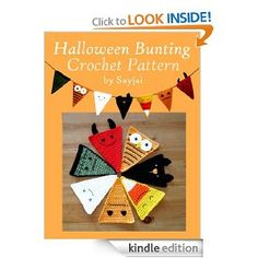 Halloween Bunting Crochet Pattern: Sayjai: Amazon.com: Kindle Store