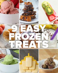 These 9 Easy Frozen Treats Are The Perfect Healthy Way To Indulge