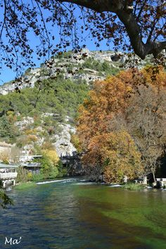 [Provence] Fontaine de Vaucluse Provence, Travelling, France, River, Outdoor, Gardens, Landscapes, Outdoors, Outdoor Games