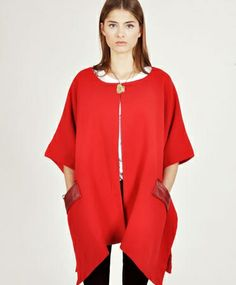 Heather Red Full Cape