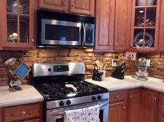 Stone Backsplash Ideas   Google Search · Stein AufkantungRückwand  VerkleidenRückwandplattenModerner Küchen BacksplashIdeen Für Die ...