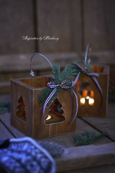 10 Wooden Lanterns You Can Make Yourself christmas lanterns. Christmas Wood Crafts, Christmas Lanterns, Christmas Signs, Christmas Art, Christmas Projects, Holiday Crafts, Christmas Decorations, Christmas Ornaments, Holiday Decor