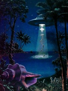 Alien Ufo Scifi Paradise D Diy Diamond Painting Kit Artful - This D Diy Diamond Painting Kit Has Everything You Need To Create A Masterpiece Adhesive Diamond Painting Canvas With A Full Pasting Area High Sparkle Light Catching Diamond Drills Drill Color Art And Illustration, Psychedelic Art, Art Alien, Trippy Alien, Alien Aesthetic, Aesthetic Art, Aliens And Ufos, Science Fiction Art, Science Art