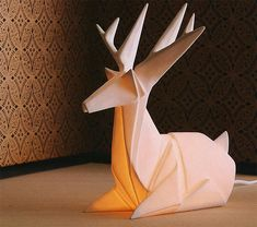 I want one! Does anyone know how to do enormous origami?? haha