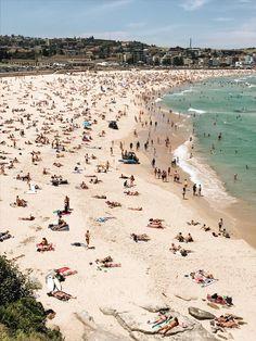 Bondi Beach, Sydney, Australia in New South Wales.