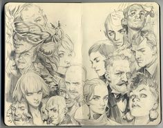 wesley burt sketchbook - Google Search