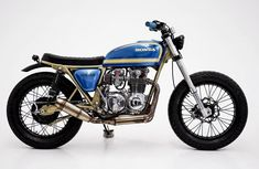 On BikeBound.com: CB550 by @herenciacustomgarage. Link in Profile #hondacb #cb550 #tracker