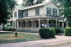 The Wright Brothers' home in Greenfield Village, Dearborn, MI. (My Mother was the leader of my girl scout troupe and she took us here to spend the day at Greenfield Village. I hope to go back someday now that I am older and can enjoy the history more.)