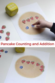 Preschool Math: Counting and Addition with Pancakes Math Activities For Kids, Preschool Activities, Pancake Day Eyfs Activities, Therapy Activities, Pancake Day Crafts, Pancake Day Maths, Mister Wolf, Pancakes And Pajamas, Fun Learning