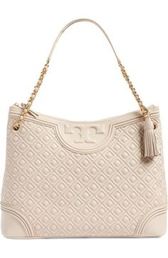 Tory Burch 'Fleming' Leather Shoulder Bag available at #Nordstrom