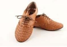 Awesome leather shoes for women brown