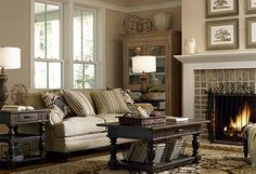 Warm & Cozy Living Rooms