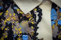 Mary Katrantzou Spring Summer 2015 Details Mary Katrantzou, Spring Summer 2015, Ready To Wear, Crochet Necklace, Detail, Clothes, Outfits, Clothing, Crochet Collar