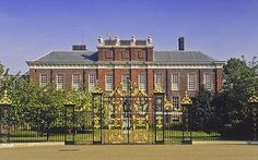 Kensington palace in london is a working royal residence
