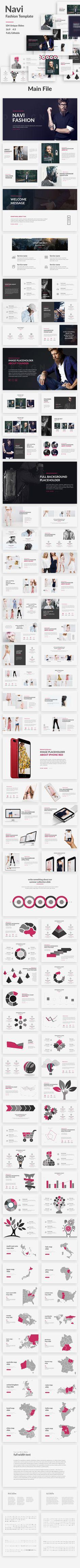 Navi - Fashion Powerpoint Template - PowerPoint Templates Presentation Templates