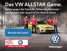 Gewinne mit VW ein Meet&Greet mit den Schweizer Nati-Stars oder fordere die Nationalteam-Allstars in einem persönlichen Duell heraus!  Nimm hier gratis am Wettbewerb teil und lerne die Schweizer-Nati persönlich kennen: http://www.gratis-schweiz.ch/meetgreet-mit-der-schweizer-nati-gewinnen/  Alle Wettbewerbe: http://www.gratis-schweiz.ch/