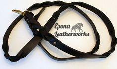 Hand braided from head to toe, this lead sports 6 of our signature braids and our twist by the snap. $70.00 Sports Website, Head To Toe, Dog Leash, Shank, Braids, Unique Jewelry, Brown, Horse, Leather