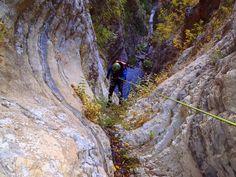 Kritharia canyon, Tzoumerka, South Pindus, Greece