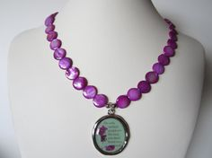 Quote necklace  The only normal people are the ones you by yasmi65, $25.00