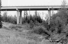 Oct. 2, 1961: Mill Creek Bridge opens to traffic Just a bridge but these old bridges got us back and forth.