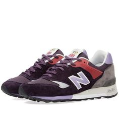 New Balance M577ETP \u0027English Tender\u0027 - Made in England (�20 Note Purple
