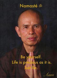 #Beyourself Life is precious...