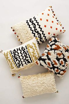 Embroidered Kosala Pillow - anthropologie.com #anthrofave