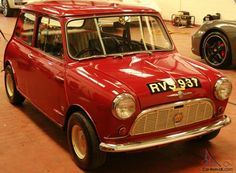1960 Speedwell tuned 850 Mini