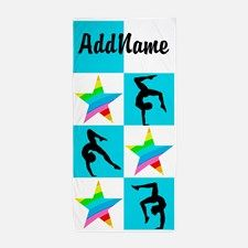 AMAZING GYMNAST Beach Towel Calling all Gymnasts! The best selection of Gymnastics Tees and Gifts to inspire every Gymnast.   http://www.cafepress.com/sportsstar/10114301 #Gymnastics #Gymnast #WomensGymnastics #Lovegymnastics #Personalizedgymnast