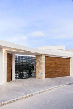 Ideas House Rustic Modern Exterior Entrance For 2019 Front Gate Design, House Gate Design, Door Gate Design, Gate House, Fence Design, Facade House, Front Gates, Entrance Gates, House Entrance