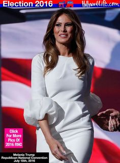 Melania Trump Dress RNC
