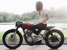 Real Biker Women oldmillmotorcycles