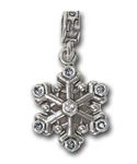 Fort Drum - Fort Drum, NY. Home of the 10th Mountain Division, and located in the Northern part of New York, these Army families enjoy the picturesque North Country from the few months of summer to the long winters. Our Fort Drum charm is a .925 sterling silver .925 snowflake with blue enamel and blue crystals.