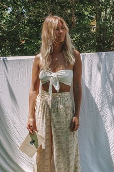 rowie the label - bohemian diesel marketplace Festival Looks, Surfer Girl Style, Surfer Girls, Beach Girl Style, Boho Fashion, Girl Fashion, Fashion Design, Fashion Ideas, Summer Outfits