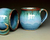 Blue  Ceramic Coffee Mug